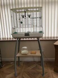 Vision Bird Cage and Stand - Excellent Condition