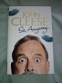 John Cleese So Anyway Autobiography hardback ltd edition book signed autograph