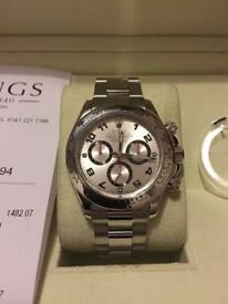 GENUINE ROLEX WHITE GOLD DAYTONA CHRONOGRAPH 116509