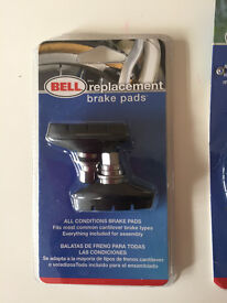 NEW BELL replacement brake pads