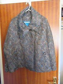 Jacket - Teal Blue - Size 16