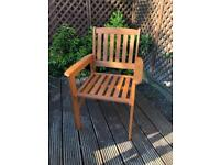 NEW Garden Chair - boxed, 4 available