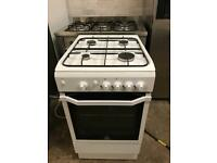 Indesit gas cooker 50cm white