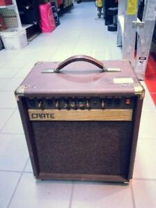 Crate Guitar Amplifier (38759). We Sell Used Guitar Amplifiers. Get a Deal at Busters Pawn