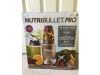 Nutri bullet Pro 900 15 piece set with extended warranty