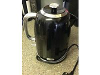 Black glossy kettle for sale