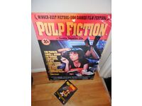 pulp fiction 3d picture and dvd