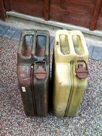 2 petrol cans