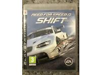 Need for Speed Shift ps3 game.