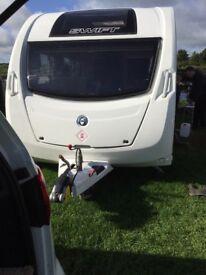 Swift Sprite major 4 2013 caravan
