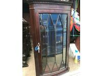 Corner display cabinet with FREE DELIVERY PLYMOUTH AREA