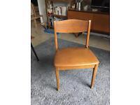 Free vintage chair, looks like teak