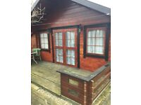 One Bed log cabin Property to rent Pitsea / Benfleet area suit single person only