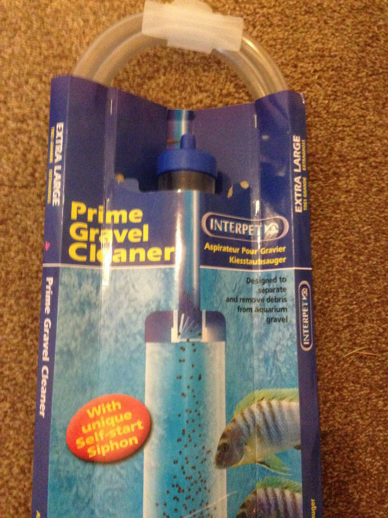Interpet Prime Gravel Cleaner - Extra Large XL - Brand New, near ferndown