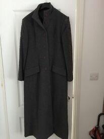 Ladies new together grey wool coat