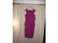 Atmosphere magenta dress. Size 10 (NEW)