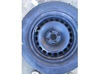 Vauxhall corsa spare steel wheel