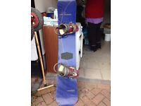 SIMS Snowboard and Bindings
