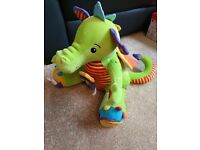 Sneezy the activity dragon by Tolo