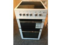 50 cm ceramic hob electric cooker with cable