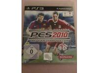 PES 2010 Pro Evolution Soccer Sony PlayStation 3 PS3 Top Zustand Berlin - Pankow Vorschau