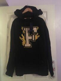 puma oversized x fenti rihanna fire hoodie