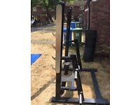 Squat Rack / Bench Press, Garage Gym Fitness Equipment
