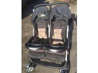 Mamas and papas double stroller