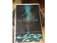 Injection no1 signed by Declan shalvey and jordie bellaire