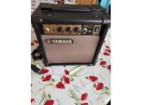 YAMAHA GA-10 Amp Small Handy Size Guitar / Karaoke Amp