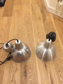 2 x Lamp shades