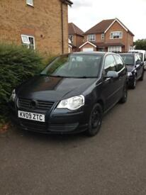 VOLKSWAGON POLO SPARES OR REPAIR 09 PLATE