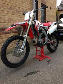 Honda crf 450 2014 fuel injected £4200 Ono