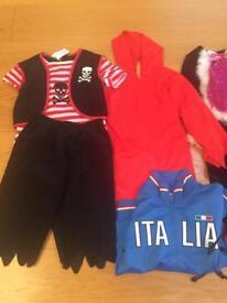 Kids Fancy Dress Clothes Bundle Age 3-4yrs