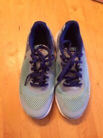 Blue Nike Trainers size UK 3.5