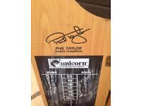 Phil Taylor Dart board