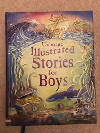 Usborne illustrated stories for boys