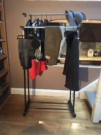 Clothes Stand - Double Rail