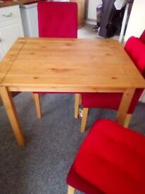 Sold wood table
