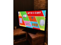 """Samsung PS43D450A2W 43"""" Plasma TV Excellent Condition with remote HD ready"""
