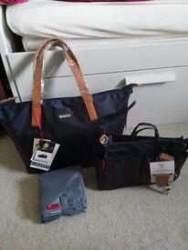 Luxury storksak noa changing bag