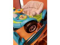 MOTHERCARE WALKER/ROCKER £20reduced £15