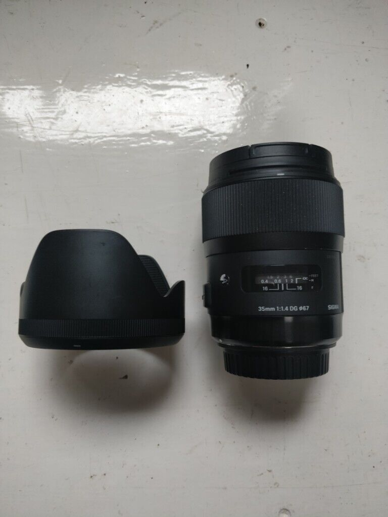 Sigma Art Lens 35mm 1 4 with EF Canon lens mount STOLEN BY PAYPAL SCAMMER |  in Gloucester Road, Bristol | Gumtree