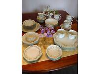 46 items of Eternal Beau tableware