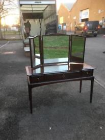 Stag Minstrel 3 drawer dressing table * free furniture delivery *