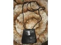 Brand new real leather small handbag