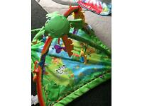 *reduced* fisher price rainforest play gym