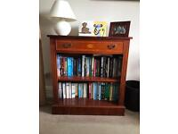 Two elm bookcases in great condition