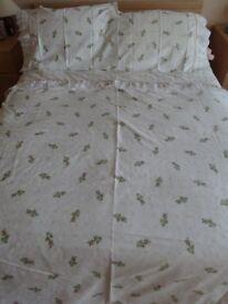 Rosebud Double Bed Duvet Cover