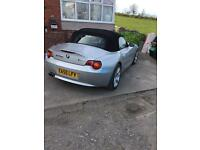BMW Z4 convertible swap only.